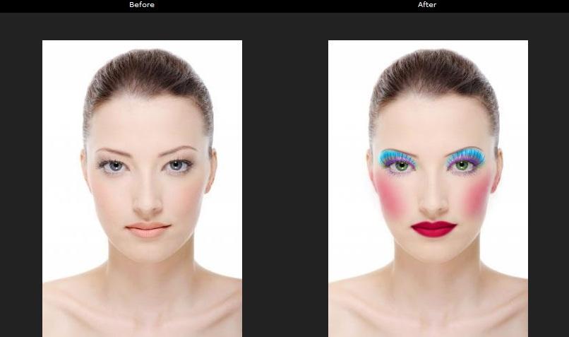Pagina para cambiar el color del cabello en una foto