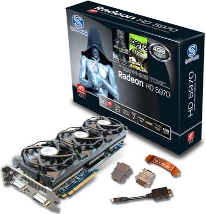 Radeon 5970 4G TOXIC Edition.