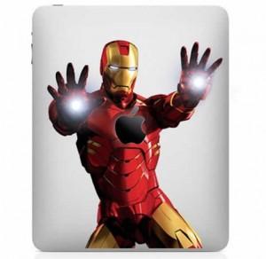 Skin/Funda para iPad de IronMan