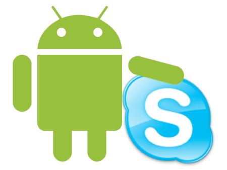 Skype ya esta disponible para Android.