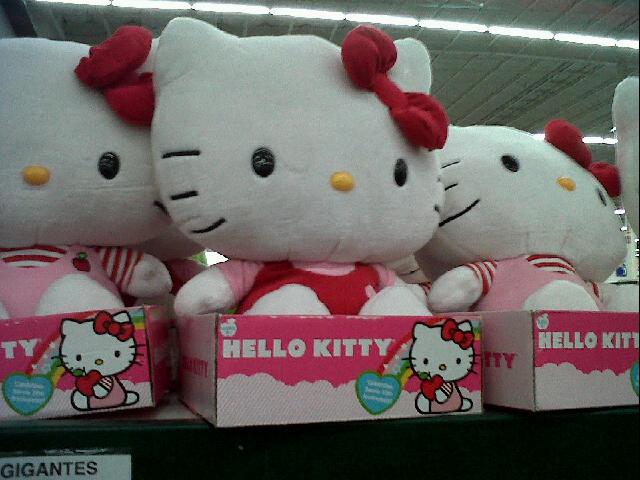 Hello Kitty de tu tamaño