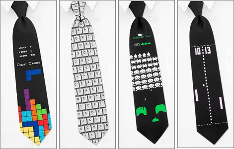 Corbatas Geek.