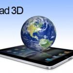 El iPad 3 de Apple podría tener tecnología 3D