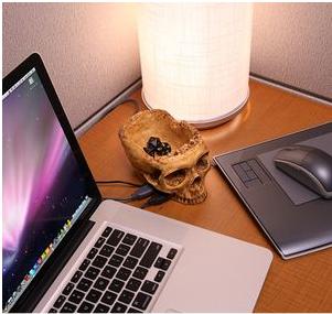 Gadget USB Craneo Zombie