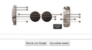 doodle de Less Paul en google canciones para tocar