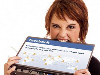 Estrés con Facebook