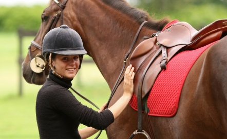 equitacion mujeres caballos