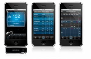 medidor de glucosa iphone iphone
