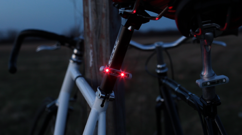 Ilumina tu bici con high tech