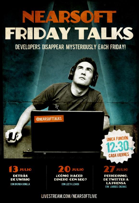 FridayTalks Nearsoft Hermosillo