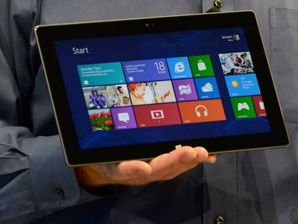 tablet con windows