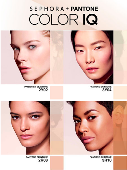 Sephora + Pantone Color IQ una herramienta que te dice que Pantone es tu piel