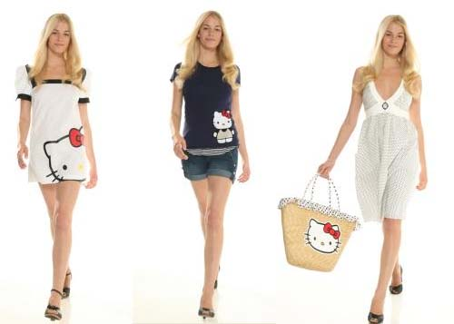 Vestidos de Hello Kitty