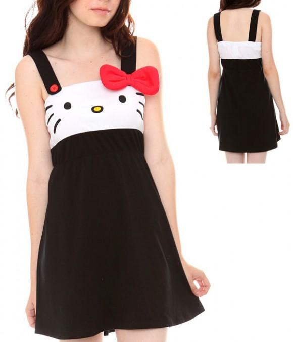vestido hello kitty juvenil