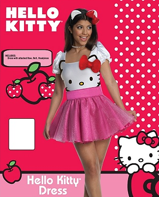 vestido hellokitty cute