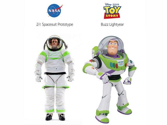 NASA traje buzz lightyear