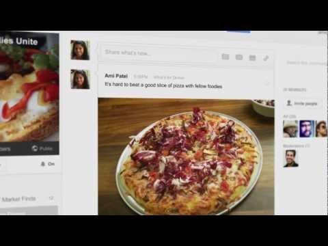 Un vistazo a las nuevas comunidades en Google Plus