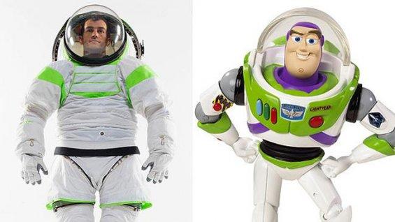 traje espacial prototipo buzz lightyear NASA