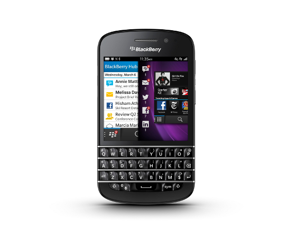 blackberry Q10 2