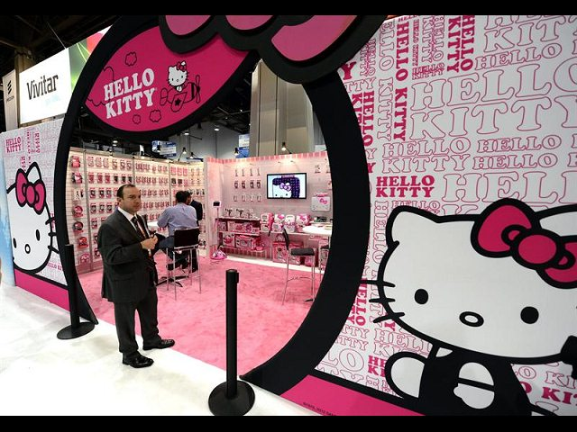 ces 2013 hello kitty