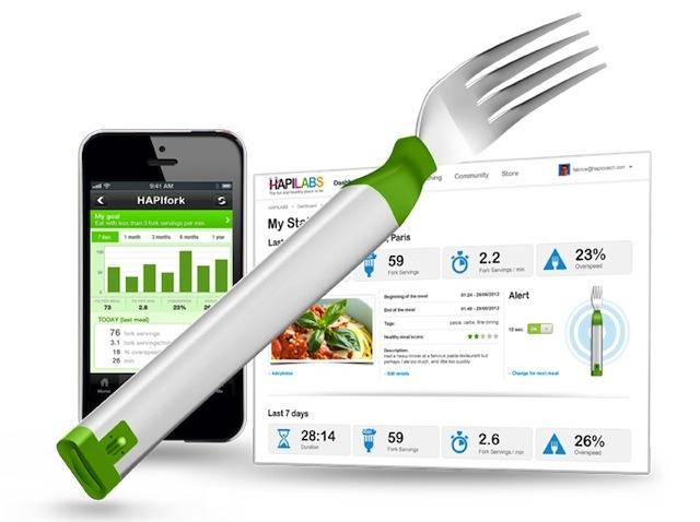 #CES2013 HAPIfork el tenedor inteligente