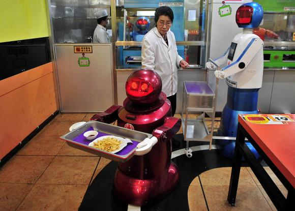 robot en restaurantes