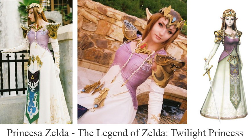 Cosplay Princesa Zelda
