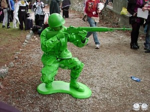 Cosplay Soldado Toy Story