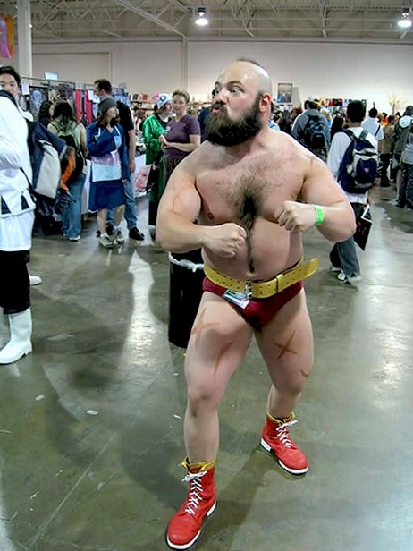 Cosplay Street Fighter Zangief