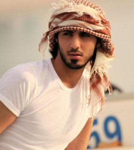 el hombre mas guapo de Arabia
