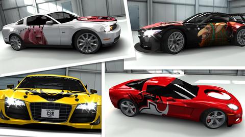 app iOS  - CSR Racing