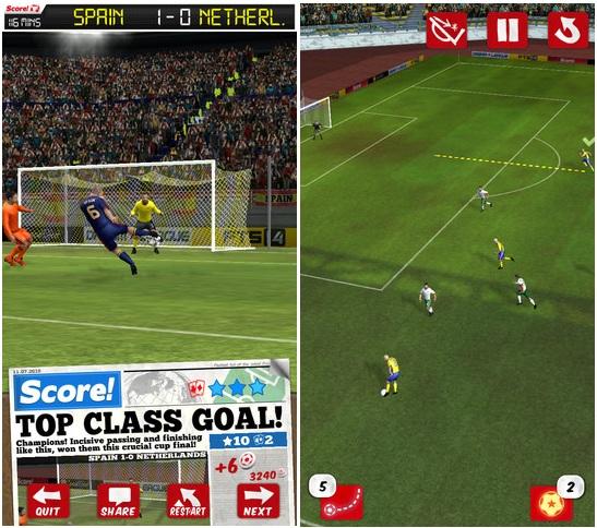 juego de futbol para celular