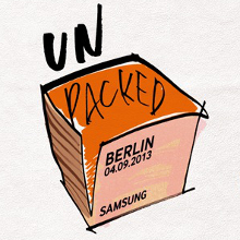 Unpacked Galaxy Note 3