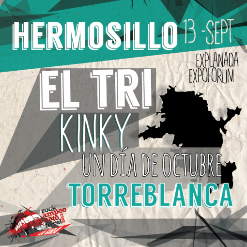 Rockampeonato Telcel Hermosillo