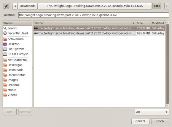 Screenshot-Select Video-Image File...