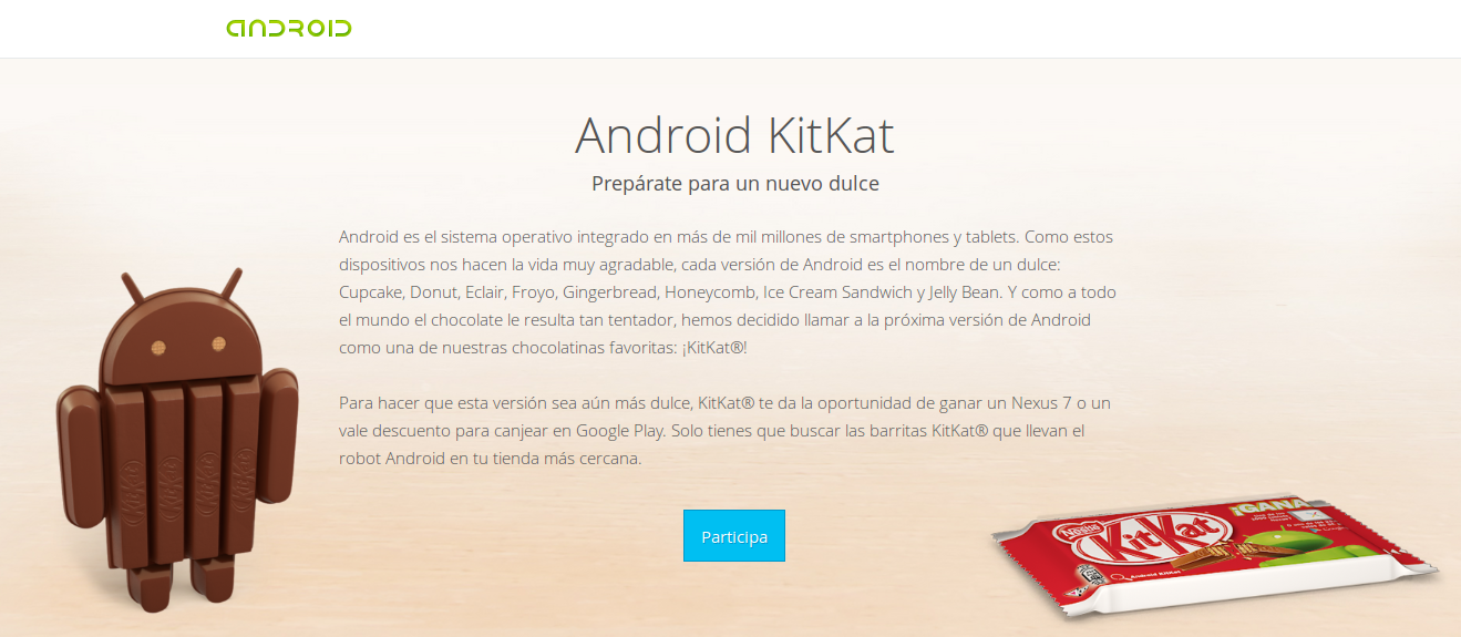 Android y KitKat