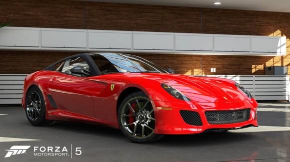 Ferrari 599 GTO en Forza Motosport 5