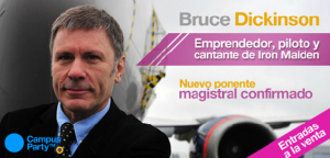 Bruce Dickinson en CPCO6