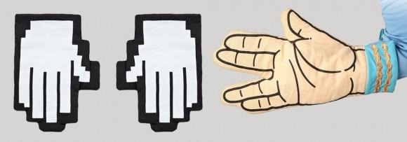 guantes de puntero