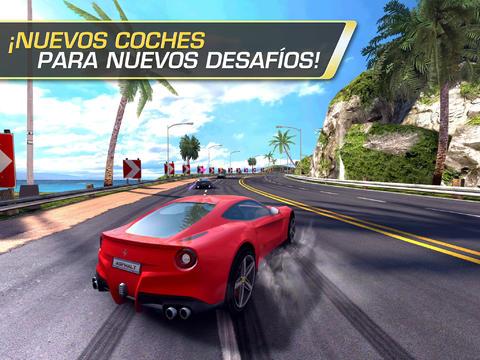 Asphalt 7 juego de carros para iphone