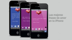 aplicacion de frases de amor para iPhone