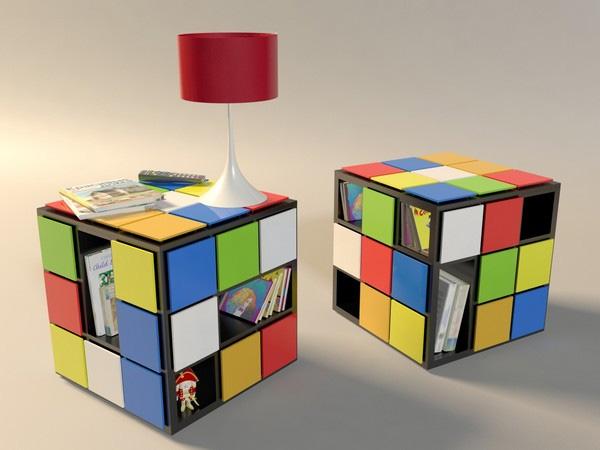 Mesa tipo librero muy Geek y Original