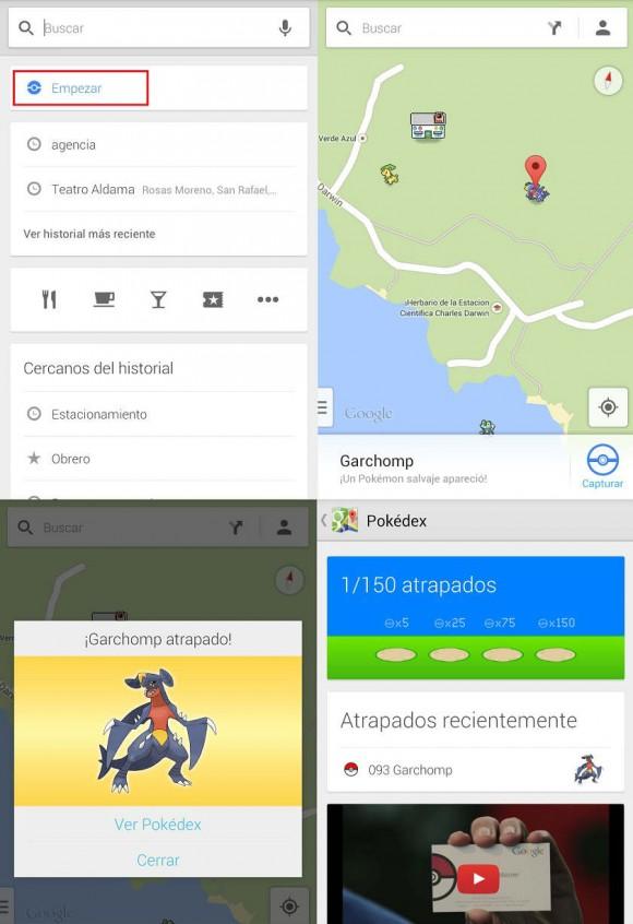 Pokemon google maps como atraparlos
