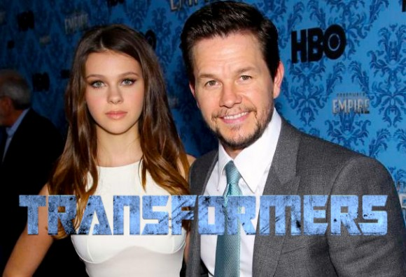 Mark Wahlberg y Nicola Peltz Transformers 4