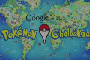 Pokemon en Google Maps