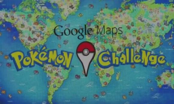 Pokemon en Google Maps