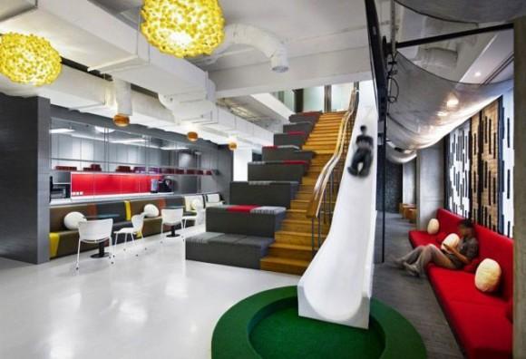 Oficinas de trabajo cool