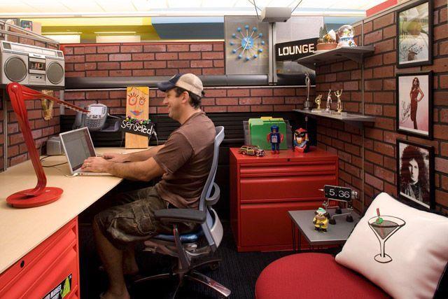 las oficinas de trabajo: