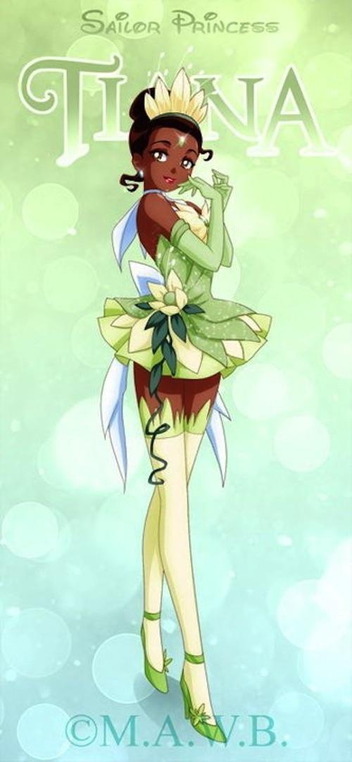 Sailor Princesa Tiana
