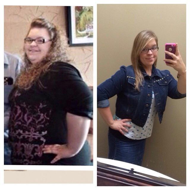 Ashley 69 kg menos ANTES y DESPUES